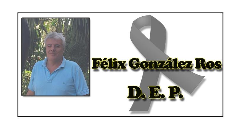 Nos deja Félix González Ros