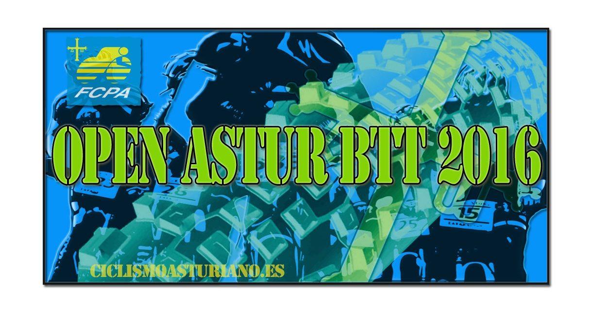 Todo listo para el inicio del Open Astur BTT 2016
