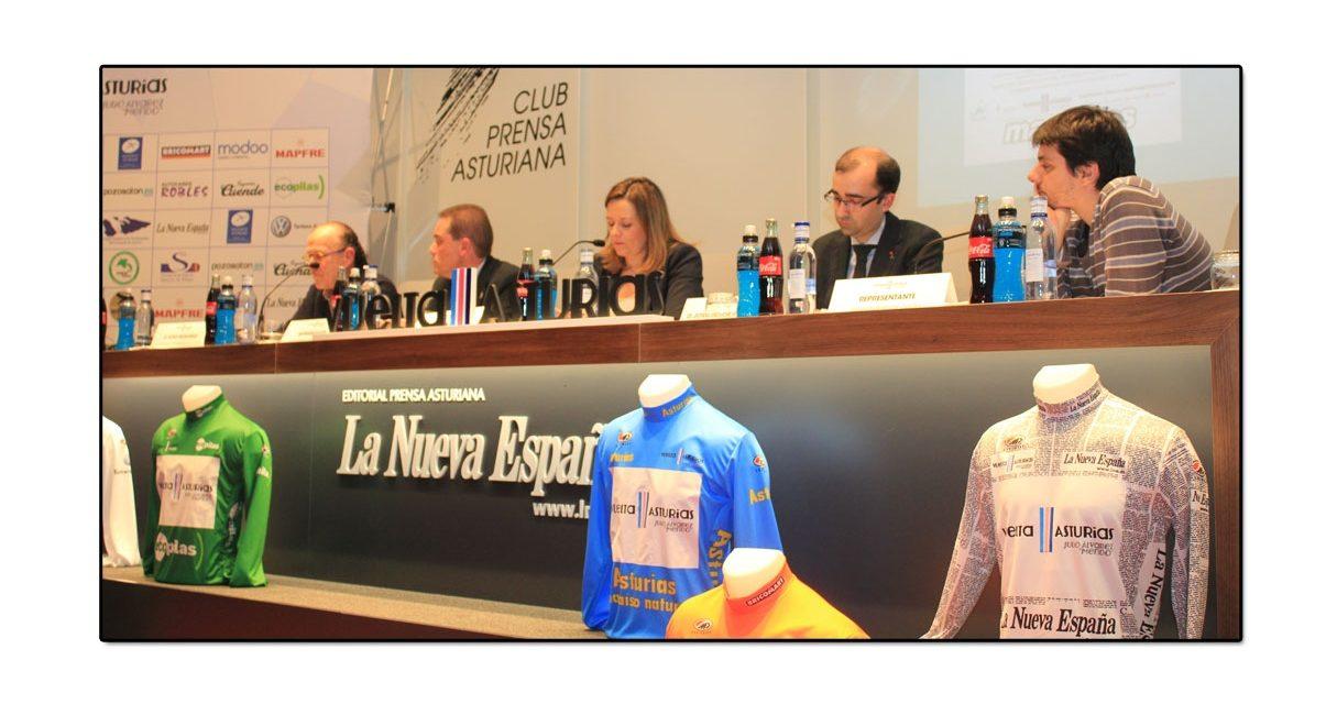 Puesta de largo de la 59 edición de la Vuelta Ciclista a Asturias