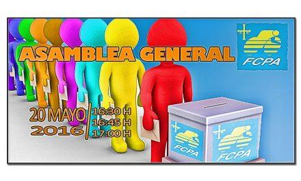 Asamblea General y elección de Presidente