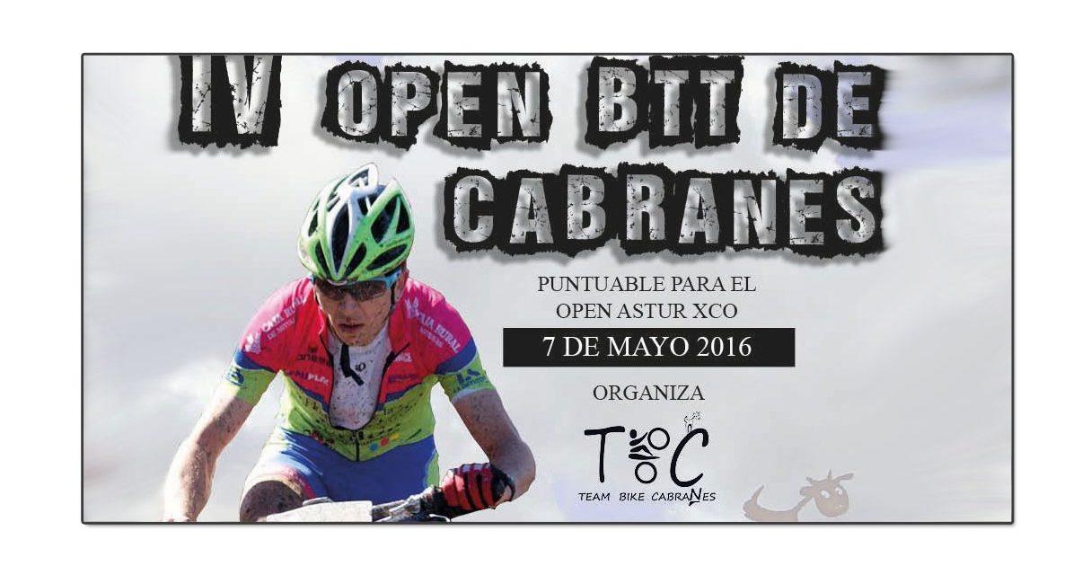 El próximo sábado arranca el Open Astur BTT en Cabranes