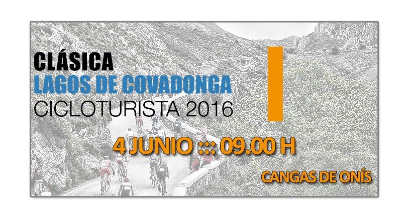 Clásica cicloturista Lagos de Covadonga 2016