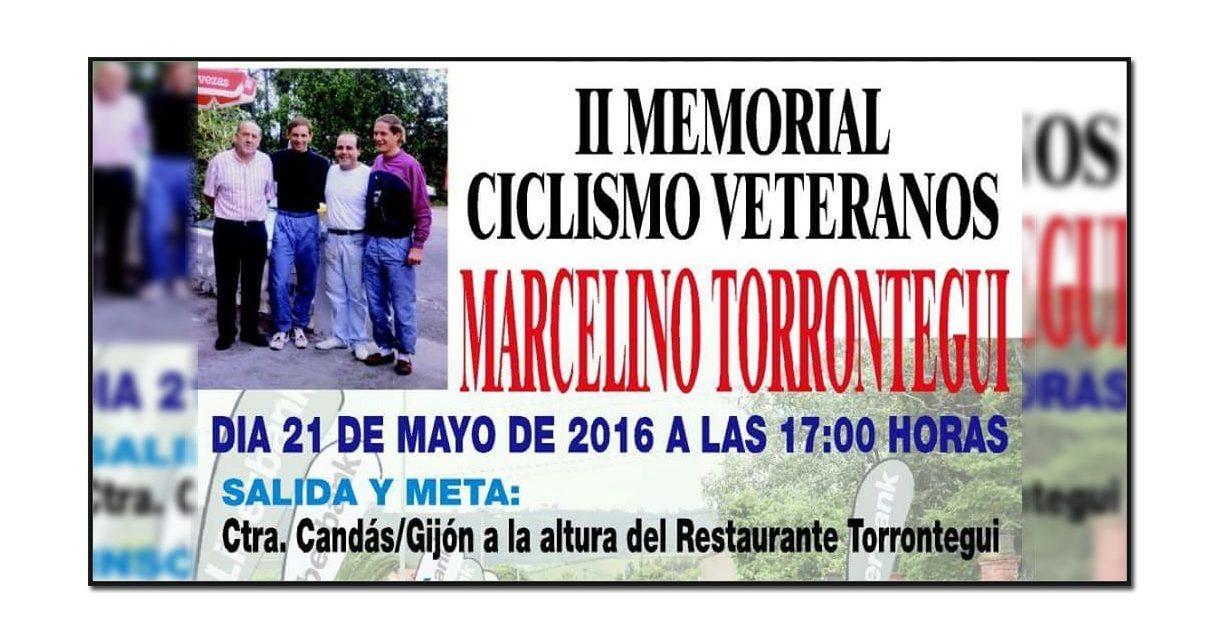 II Memorial Marcelino Torrontegui para categoría máster