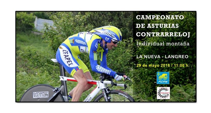 Campeonato de Asturias de montaña, cronoescalada individual Alto La Faya