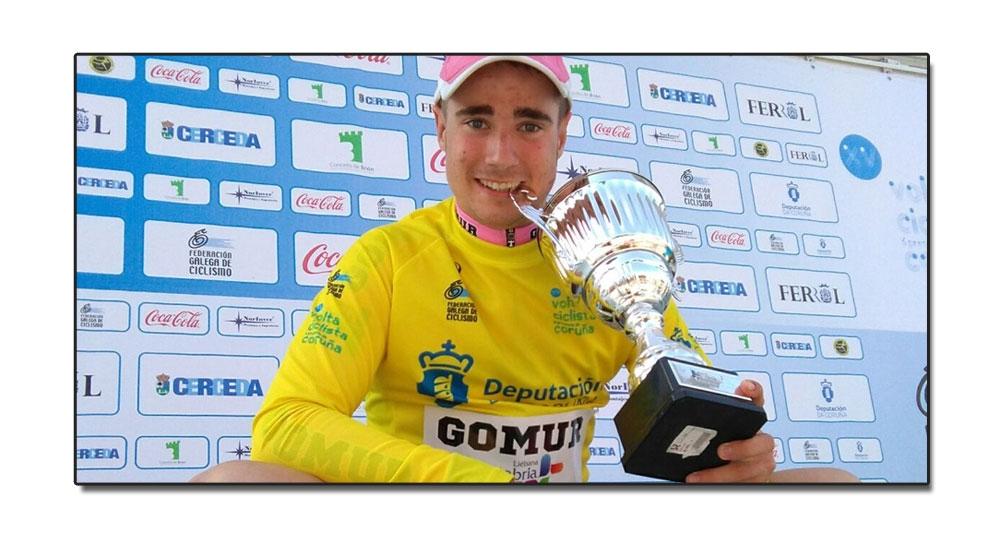 Victoria de Dani Viejo en la primera etapa de la Vuelta Ciclista A Coruña