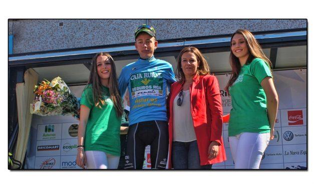 Hugh Carthy del Caja Rural-Seguros RGA se adjudica la Vuelta Ciclista a Asturias