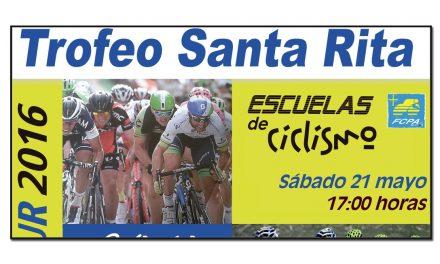 Trofeo Santa Rita para escuelas de ciclismo