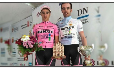 Victoria de Dani Viejo en la última etapa de la Vuelta a Navarra