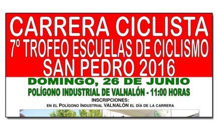 7º Trofeo de Escuelas de ciclismo San Pedro 2016