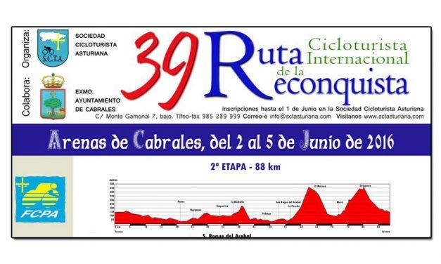39 Ruta cicloturista de La Reconquista, Arenas de Cabrales
