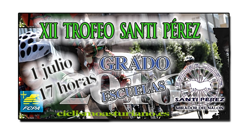 XII Trofeo Santi Pérez para escuelas de ciclismo