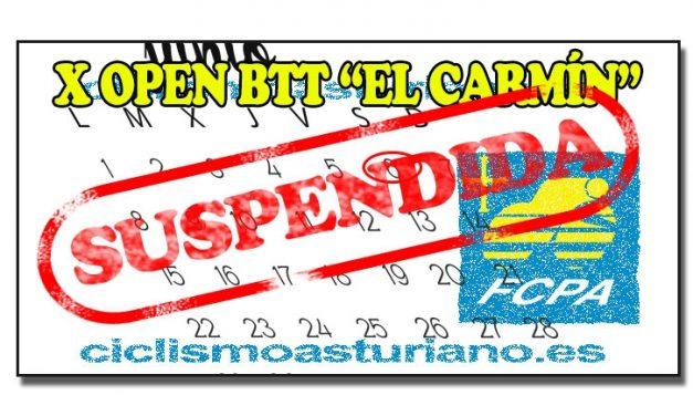"""Suspendido el Open BTT """"El Carmín"""" de Pola de Siero. Sama última del Open Astur BTT 2016"""