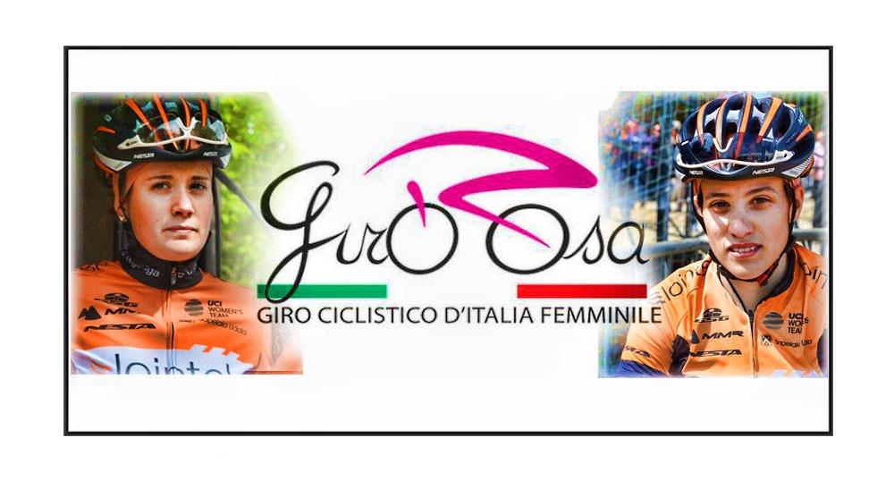 Lucía y Alicia en el Giro de Italia femenino