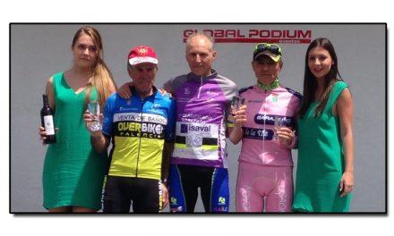 Participación asturiana en la Vuelta Ciclista a Salamanca Máster