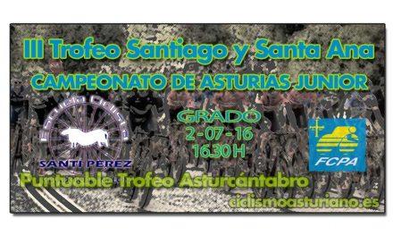 III Trofeo Santiago y Santa Ana, Campeonato de Asturias junior