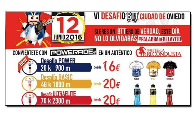 VI Desafío BTT Ciudad de Oviedo (Jinetes de La Reconquista)