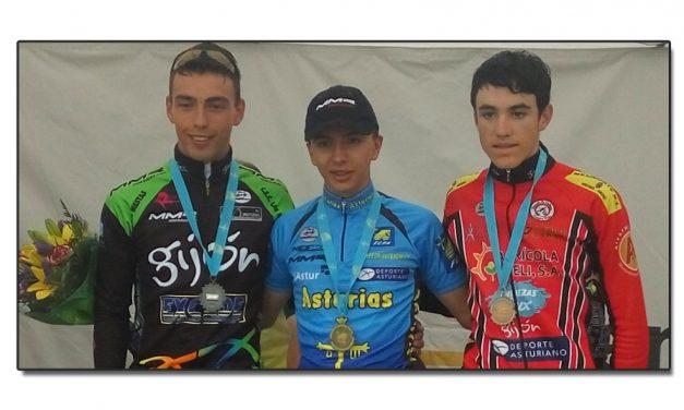 Pablo Uría Campeón de Asturias de fondo en carretera cadete