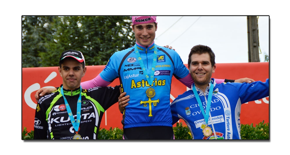 Dani Viejo Campeón de Asturias absoluto de fondo en carretera