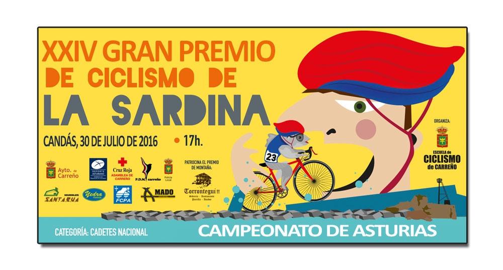 G. P. Ciclista La Sardina, Cto. Asturias cadete masculino