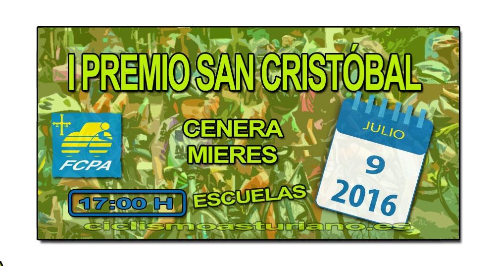 I Premio San Cristóbal, Cenera, Mieres