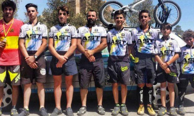 Javi Alonso Campeón de España máster de Trial