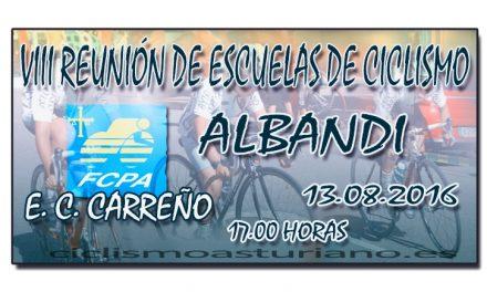 VIII Reunión de escuelas de ciclismo de Albandi