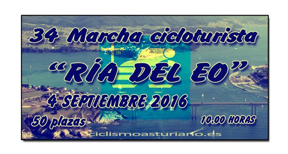 """34 Marcha cicloturista """"Ría del Eo"""""""