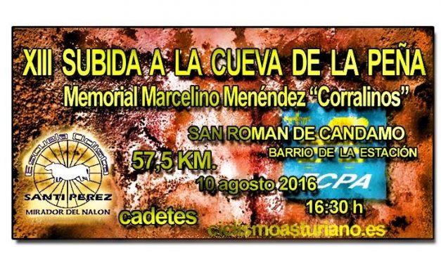 XIII Subida ciclista a La Cueva de La Peña