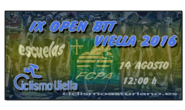 IX Open BTT Viella 2016 para escuelas