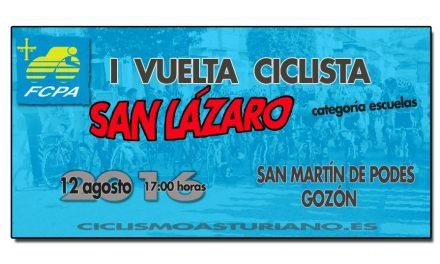 """I Vuelta Ciclista """"San Lázaro"""", escuelas en Gozón"""