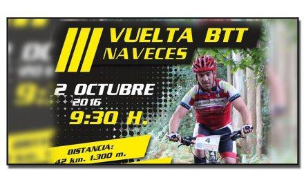 III Vuelta BTT Naveces, 2 octubre 2016