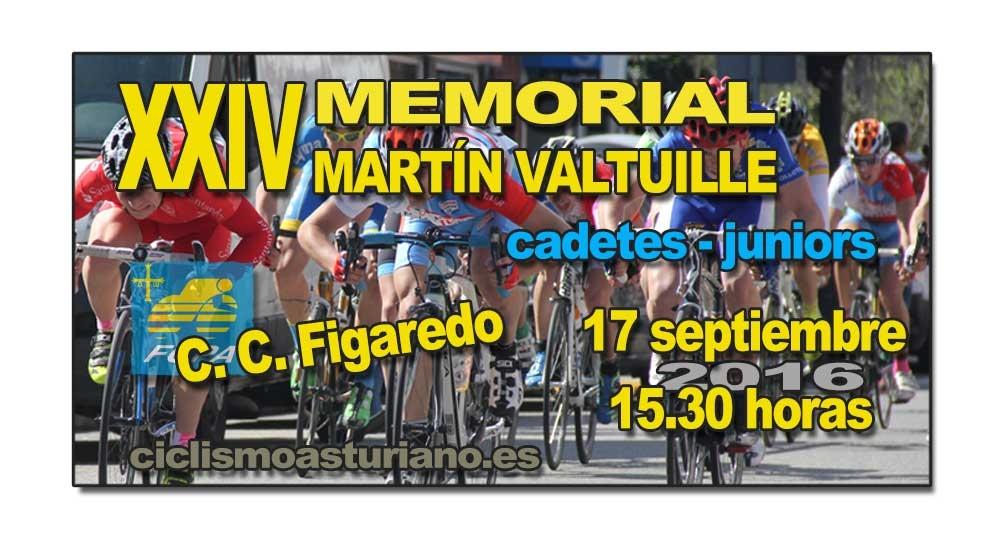 XXIV Memorial Martín Valtuille, cadetes y juniors
