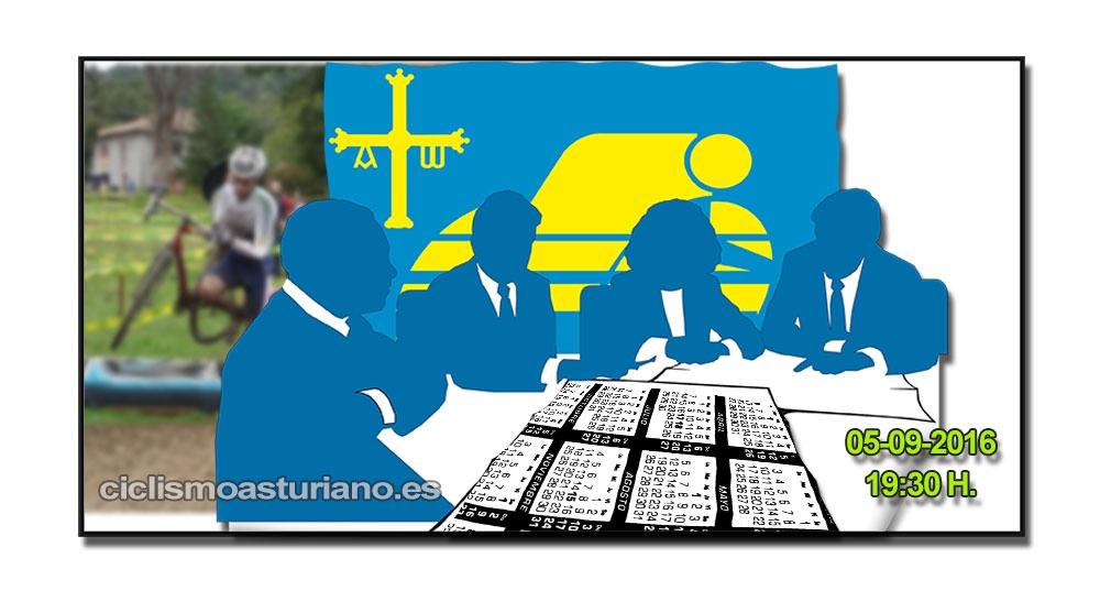 Reunión con los organizadores de pruebas de CX 2017