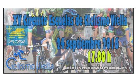 XV Circuito de escuelas de ciclismo Viella 2016