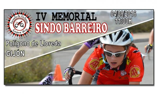 IV Memorial Sindo Barreiro para escuelas de ciclismo