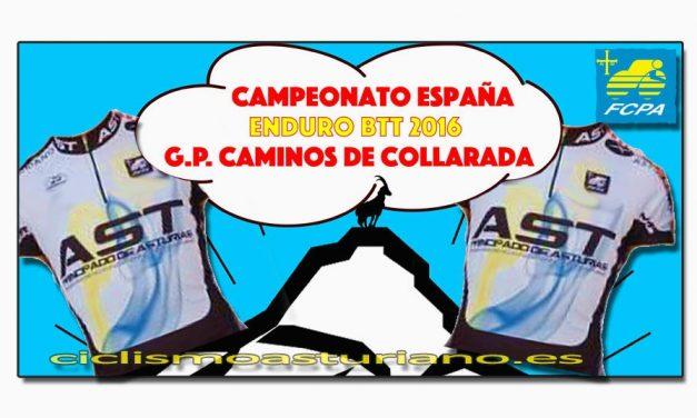 Selección asturiana para el nacional de Enduro de Villanúa