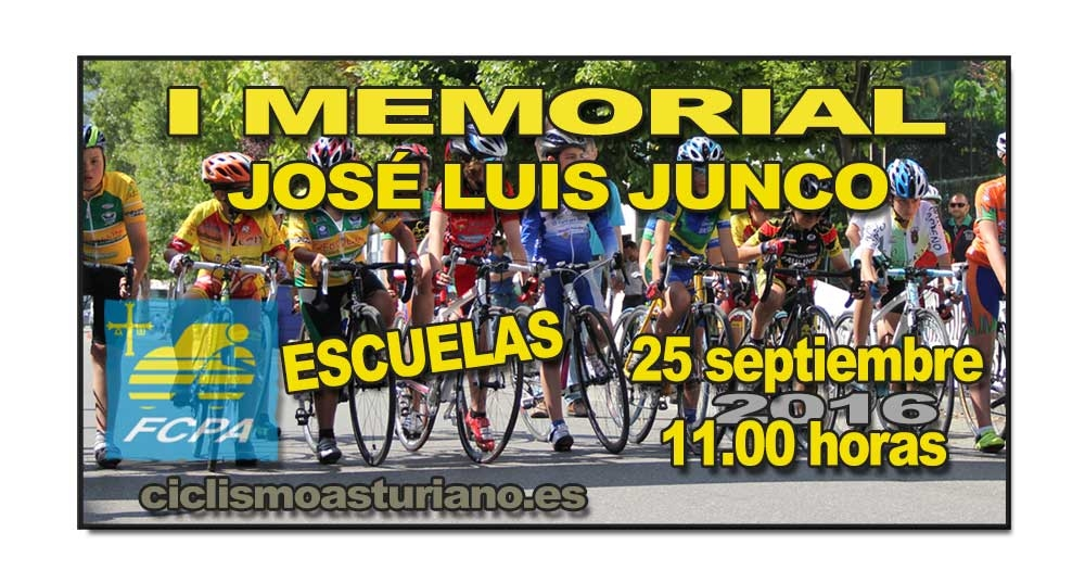 I Memorial José Luis Junco, Colombres