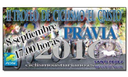 """II Trofeo de ciclismo """"El Cristo"""""""