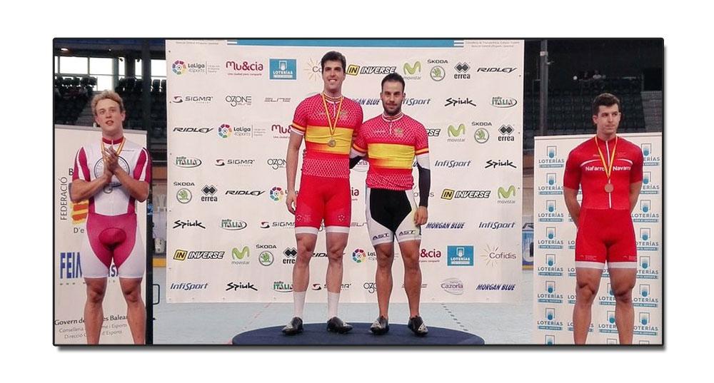 Jaime Vega Campeón de España sub23 de velocidad. Tres bronces para Asturias