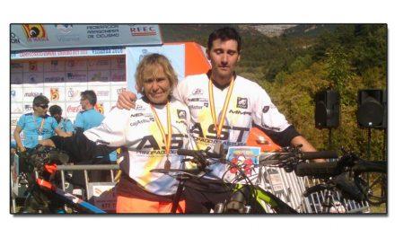 Iván Runza subcampeón de España de Enduro. Covadonga Glez.  bronce