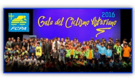 Gala del Ciclismo Asturiano 2016