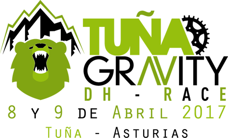 Logotipo de Tuña Gravity DH - Race