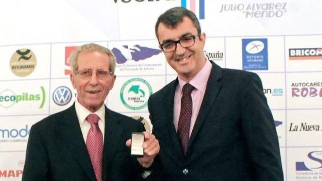 Martin Bahamontes Insignia Vuelta Ciclista a Asturias