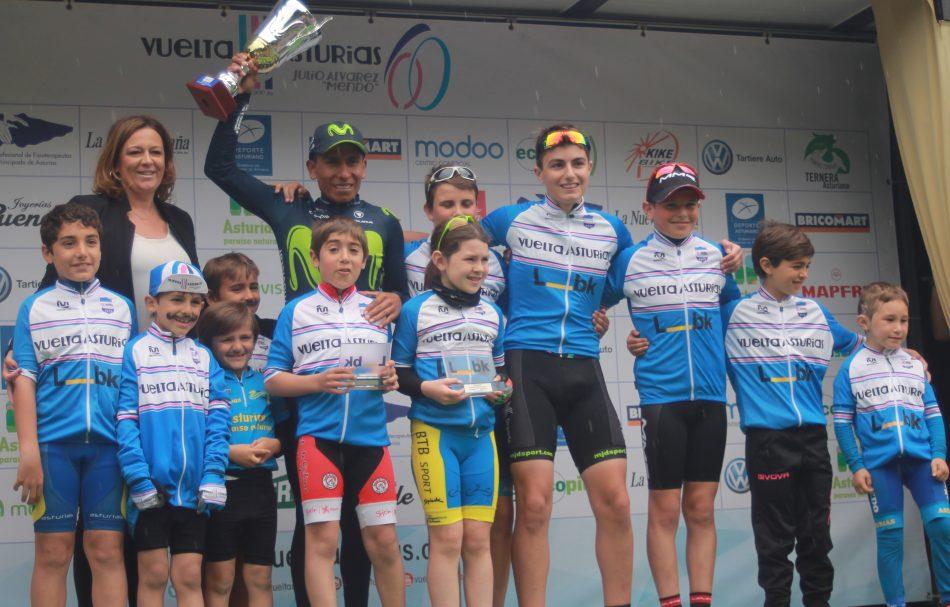 Nairo Quintana con ciclismo base