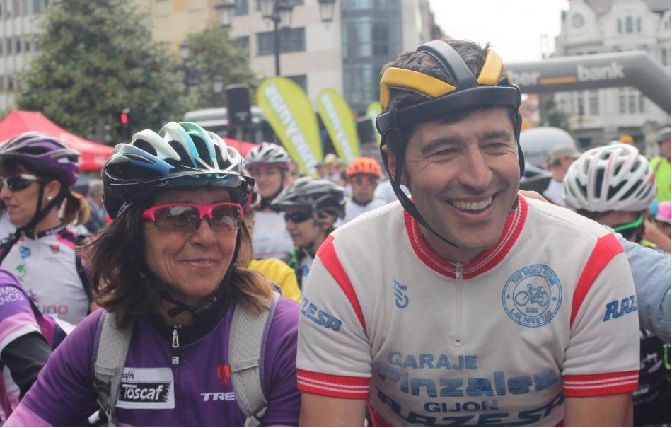 Rosa Fernández y Chechu Rubiera carreras contra el cáncer
