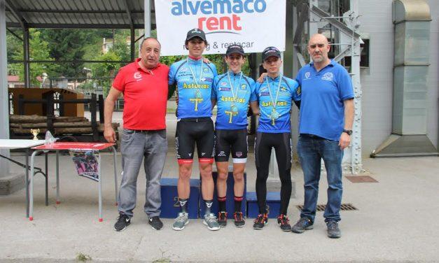 Los jóvenes al poder, en el Campeonato de Asturias de Cronoescalada