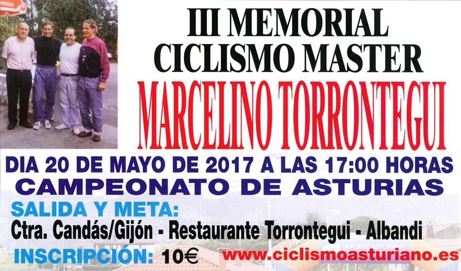 III Memorial Marcelino Torrontegui (Campeonato de Asturias Categoría Máster)