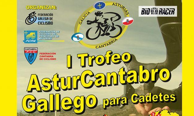 La Federación de Ciclismo del Principado de Asturias impulsa el Trofeo Asturcantabrogalego cadete