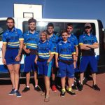 La selección asturiana de Descenso al Campeonato de España en Ubrique