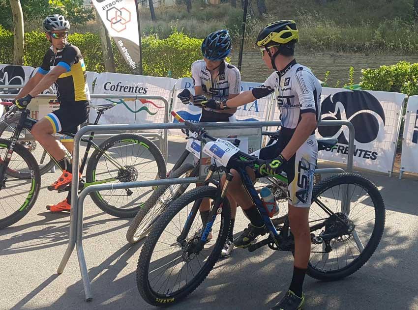 Rocio Gamonal y Alfredo Teleña en Relevo